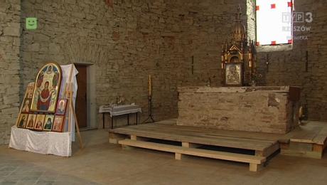 Niedokończny remont cerkwi w Baligrodzie