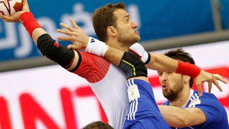 Mariusz Jurkiewicz był jednym z bohaterów meczu