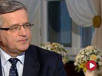 """""""Prezydent nie jest prezydentem sumień polskich"""". Komorowski o m.in. o in vitro w kampanii wyborczej"""