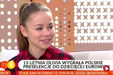 Olivia Wiczorek wygrała polskie preselekcje do dziecięcej Eurowizji