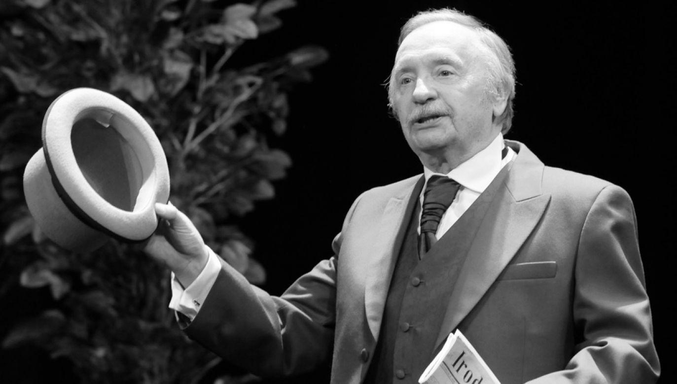 Wojciech Pokora przez dziesięciolecia zachwycał swoją grą (fot. arch.PAP/Andrzej Rybczyński)