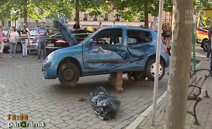 Skrzyżowanie śmierci w centrum Słupska