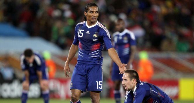 Ribery był członkiem kadry, która w fatalnym stylu odpadła z mundialu w RPA w 2010 roku (fot. Getty Images)