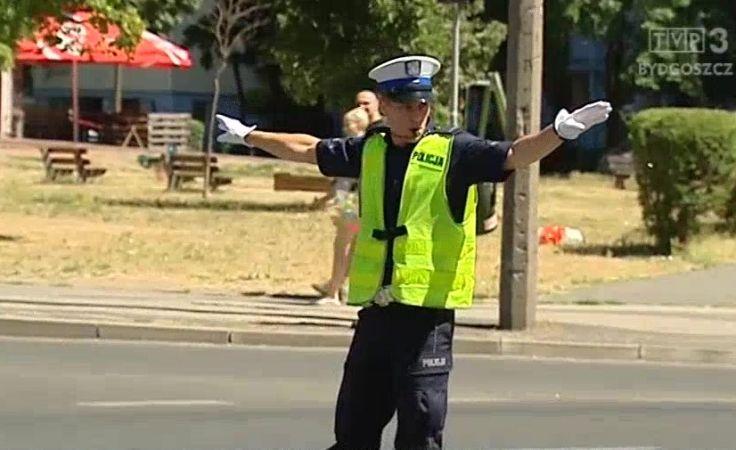 Zawody o tytuł najlepszego policjanta ruchu drogowego w regionie