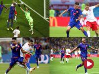 Sromotna porażka Polski z Kolumbią – skrót meczu