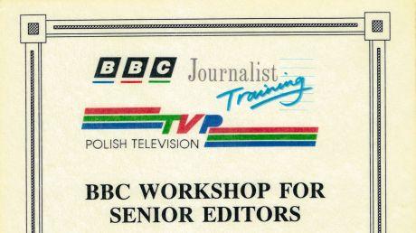 Kurs BBC dla wydawców programów