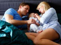 Po powrocie Igi szczęśliwa rodzina nareszcie budzi się w komplecie (fot. A. Grochowska)