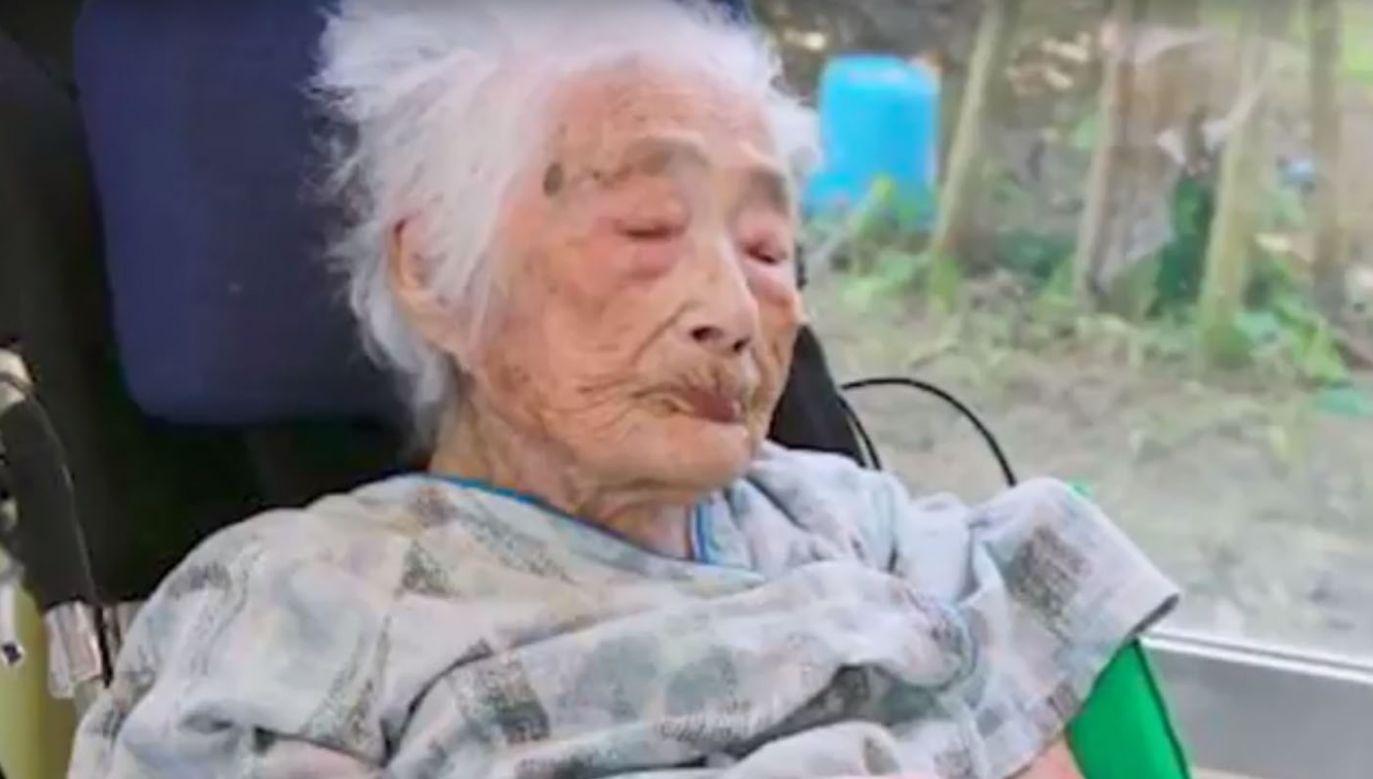 Zmarła najstarsza osoba na świecie  (fot. youtube.com)
