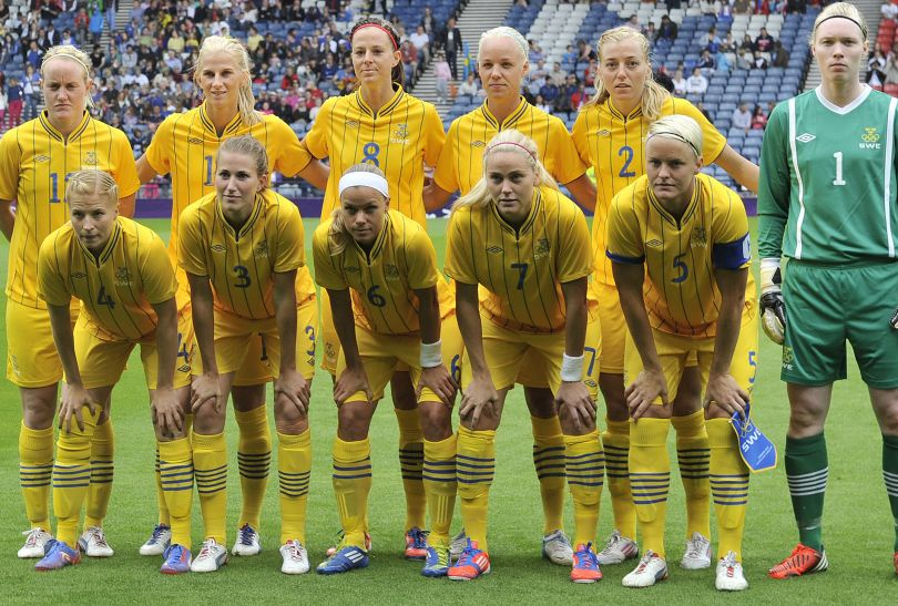 Szwedki przegrały z Francuzkami i odpadły z walki o medale (fot. Getty Images)