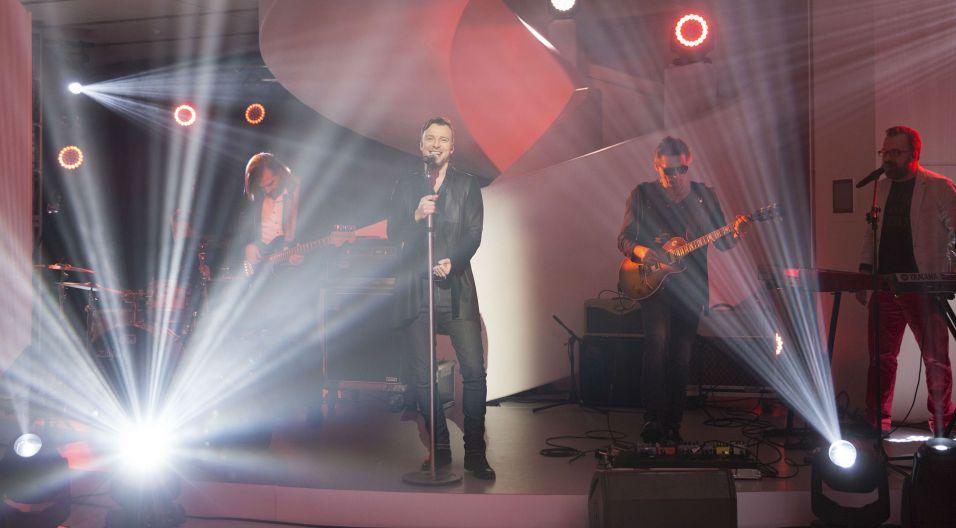 Gościem drugiego odcinka była grupa Feel (fot. TVP/N. Młudzik)