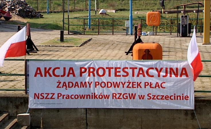 Protest pracowników żeglugi śródlądowej. Chcą więcej etatów