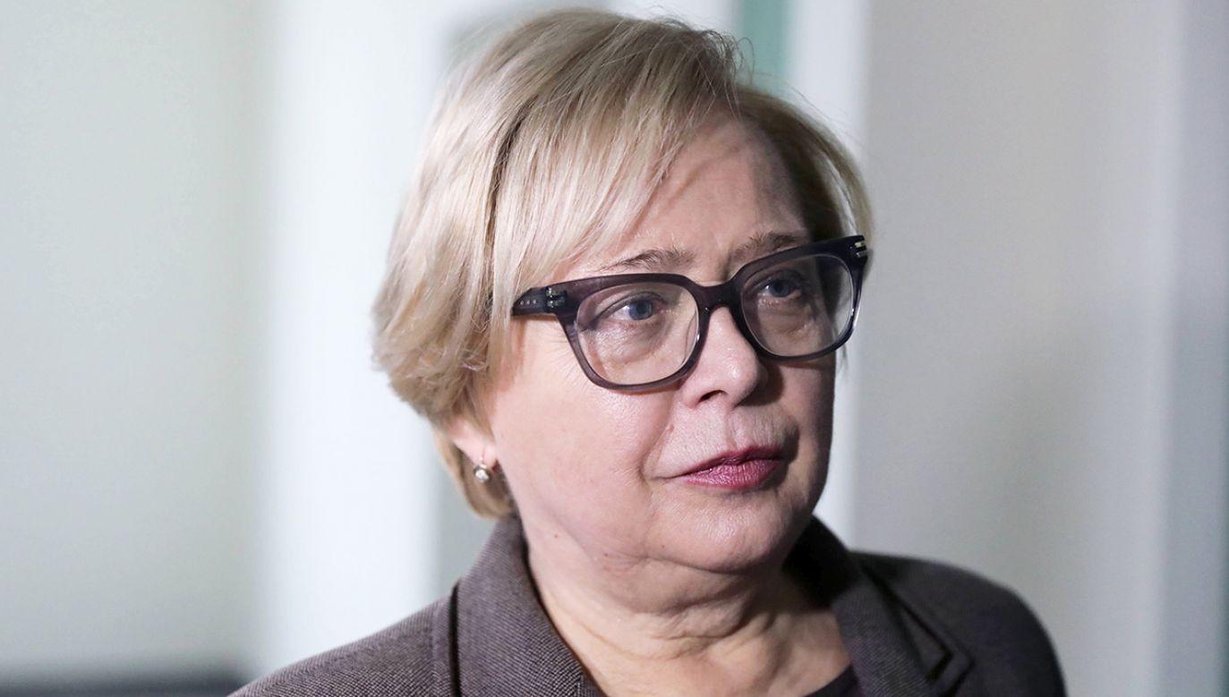 Pierwsza prezes Sądu Najwyższego Małgorzata Gersdorf zna swój ustawowy obowiązek – zapewnił rzecznik SN (fot. arch. PAP/Tomasz Gzell )