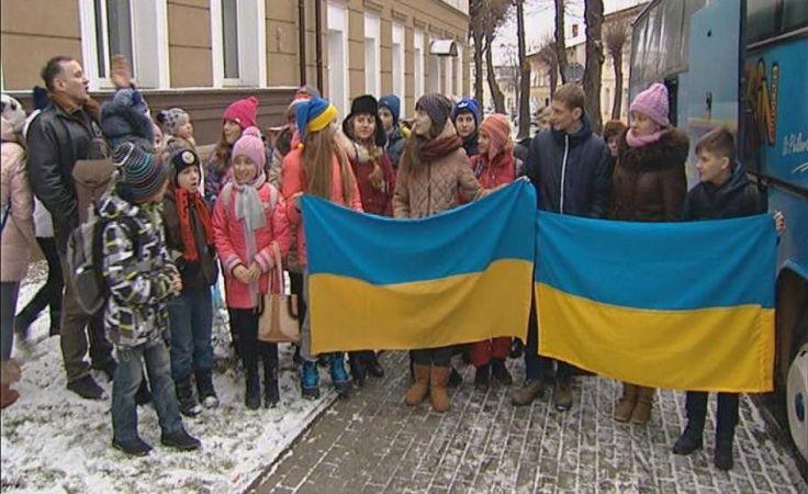 Dzieci z Ukrainy w Połczynie Zdroju