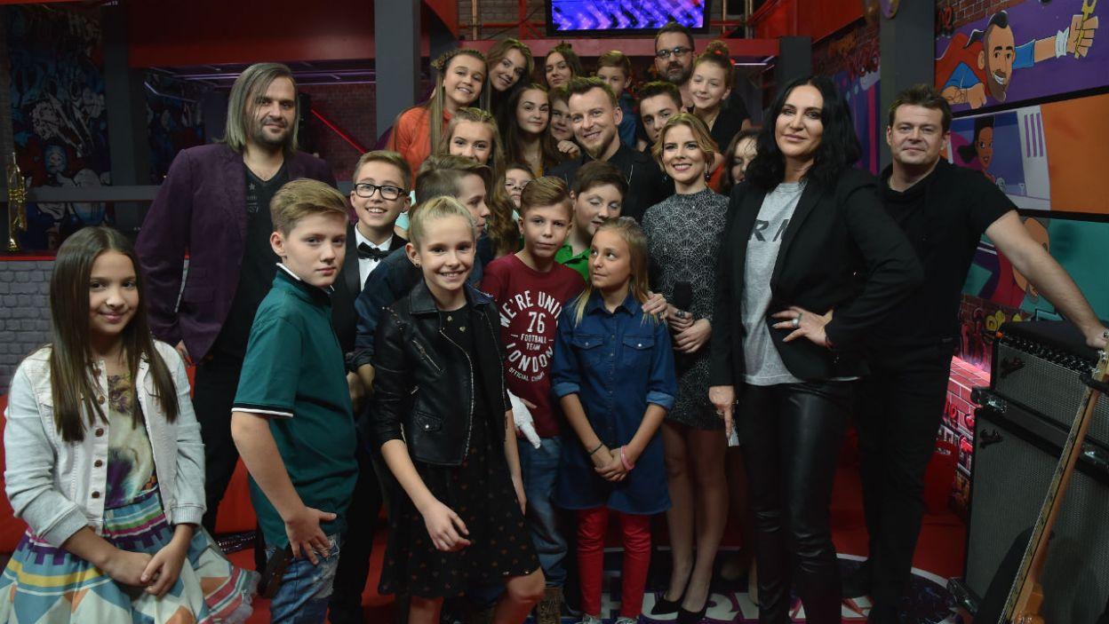 Gościem odcinka była Kayah i Piotr Kupicha z zespołu Feel (I. Sobieszczuk/TVP)
