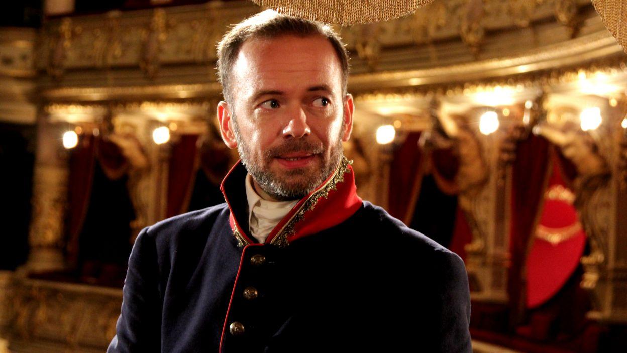 W Solurze przebywał także generał Franciszek Paszkowski; tę postać zagrał Grzegorz Mielczarek (fot. TVP)