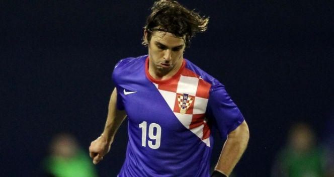 Niko Kranjcar w eliminacjach strzelił cztery gole i był najskuteczniejszym zawodnikiem reprezentacji Chorwacji (fot. Getty Image
