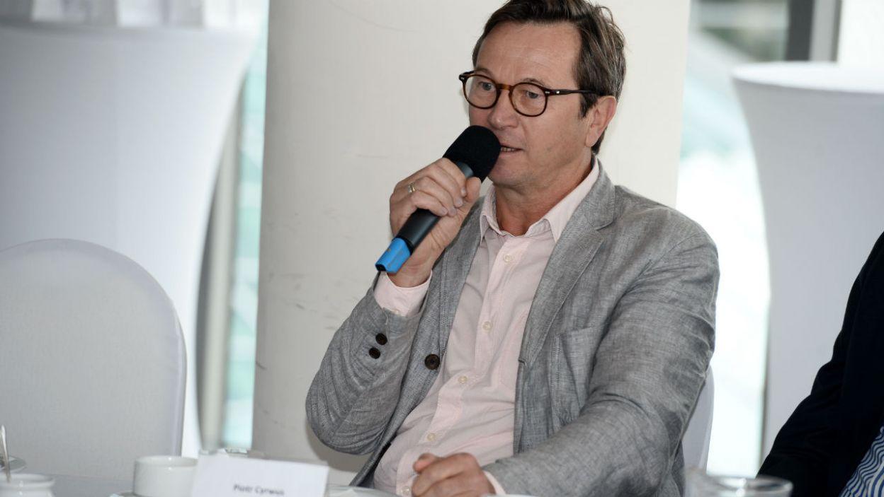 Na telewizyjnej scenie pojawi się także Piotr Cyrwus (fot. TVP)