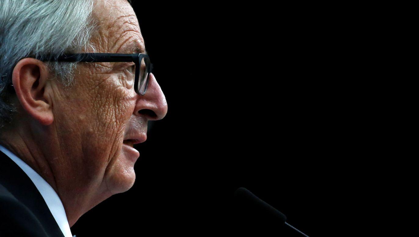 Jean-Claude Juncker szef Komisji Europejskiej (fot.  REUTERS/Dario Pignatelli)