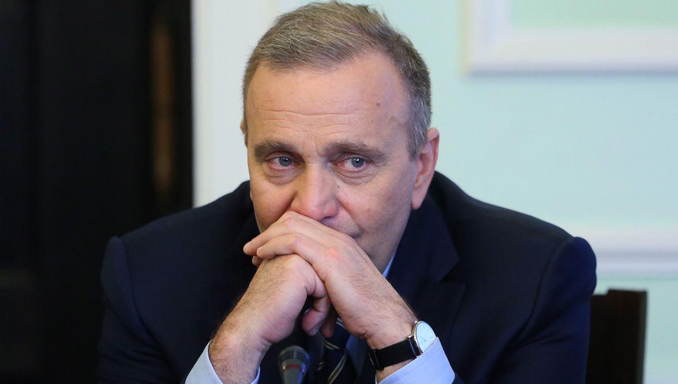 Przewodniczący PO Grzegorz Schetyna (fot. arch.PAP/Leszek Szymański)