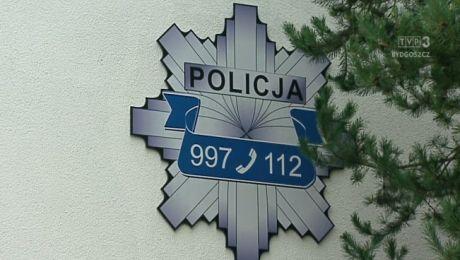 Policja pomogła uratować kobietę