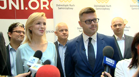 Katarzyna Obara-Kowalska i Jerzy Michalak (fot. TVP3 Wrocław)