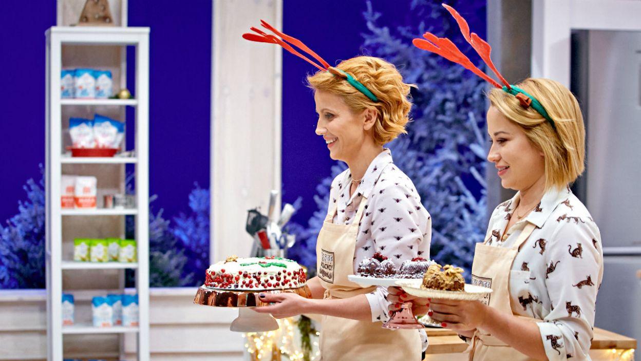 Siostry Zielińskie zdecydowały się na ciasto marchewkowe (fot. TVP)