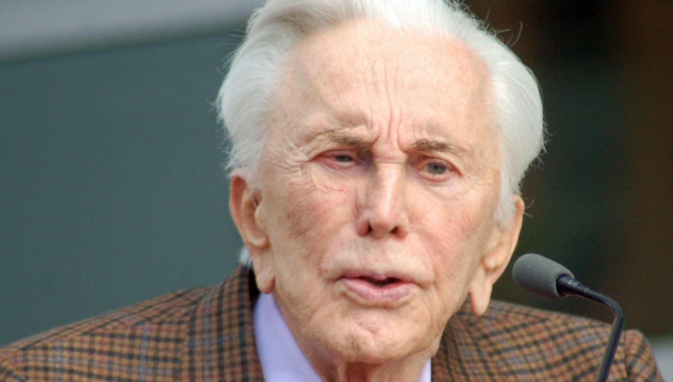 Kirk Douglas kończy 101 lat (fot. Wikimedia Commons/Angela George)