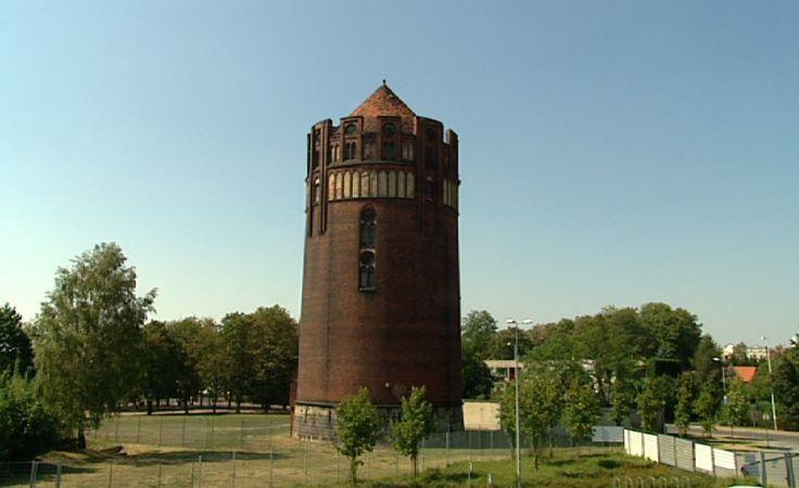 Wieża ciśnień w Gliwicach.