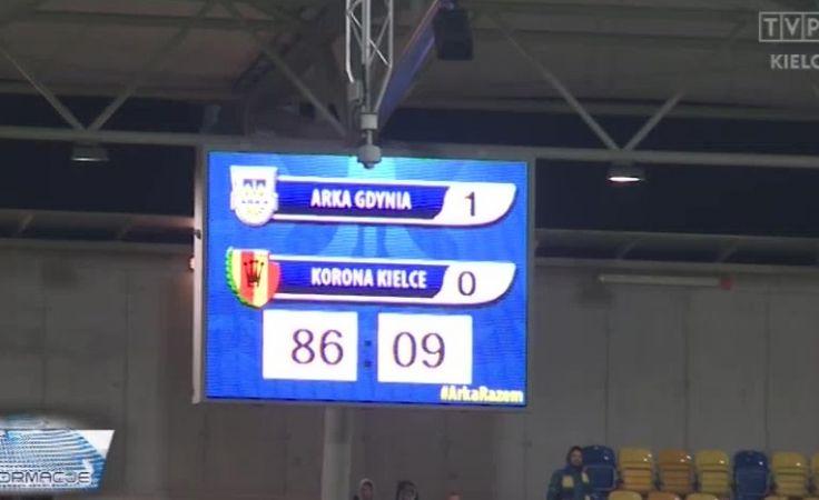 Bilet na PGE Narodowy dla Arki Gdynia. Puchar Polski nie dla Korony