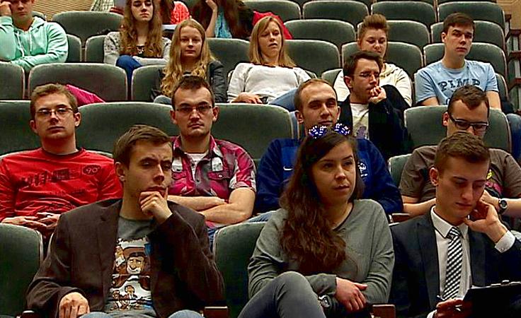 Studenci zachęcani do uczestnictwa w głosowaniu