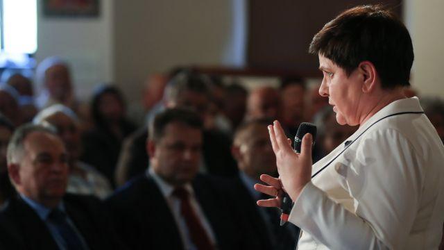 Beata Szydło: Nasz rząd bezwzględnie walczy z korupcją i oszustami