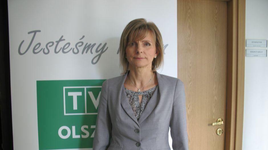 Irena Kierzkowska, dyrektorka Szpitala Wojewódzkiego w Olsztynie.