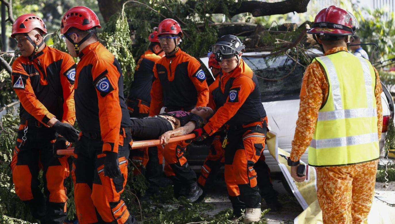 26 osób zginęło, a 23 są nadal poszukiwane (EPA/ROLEX DELA PENA)