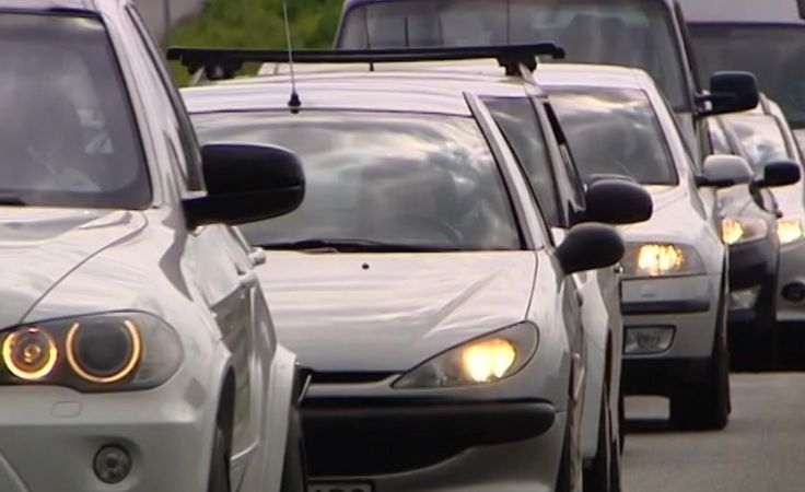 Obecnie droga krajowa 47 między Rdzawką a Nowym Targiem jest w każdym kierunku jednojezdniowa