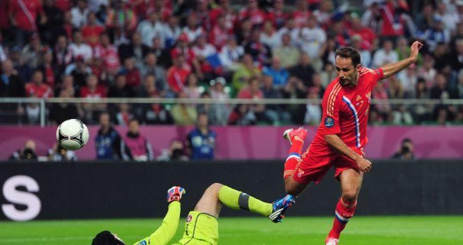 Roman Szirokow w 24. minucie podwyższył na 2:0 (fot. Getty Images)