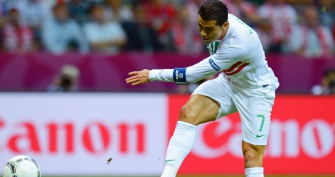 Cristiano Ronaldo strzelił jedynego gola w meczu z Czechami (fot. Getty Images)