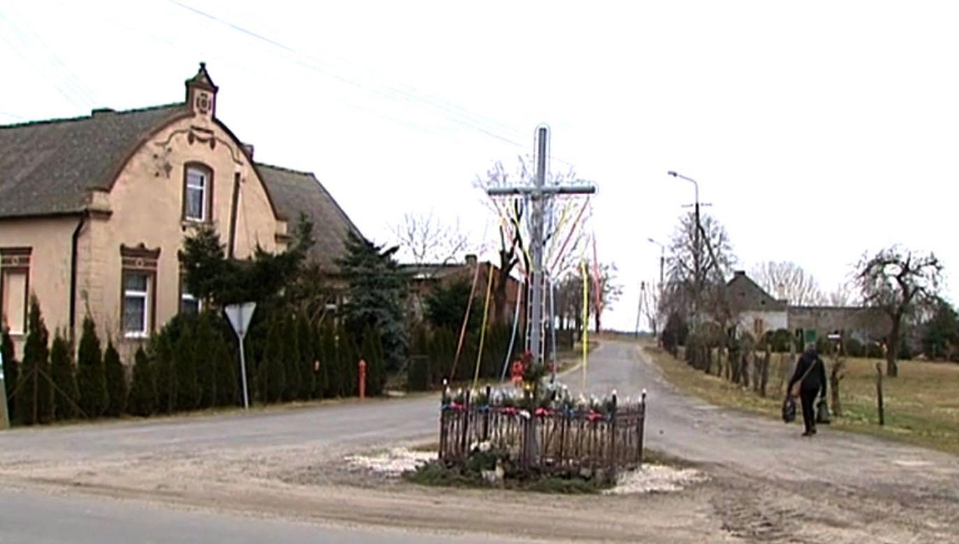 Do fatalnej pomyłki doszło we Żninie (fot. TVP Info)