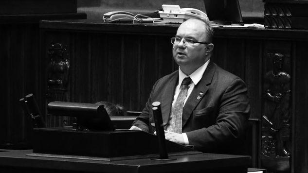 Wójcikowski zdobył mandat poselski w okręgu obejmującym Piotrków Trybunalski (fot. sejm.gov.pl/Rafał Zambrzycki)