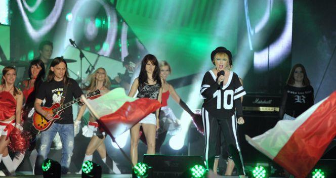 Maryla Rodowicz i hymn Euro