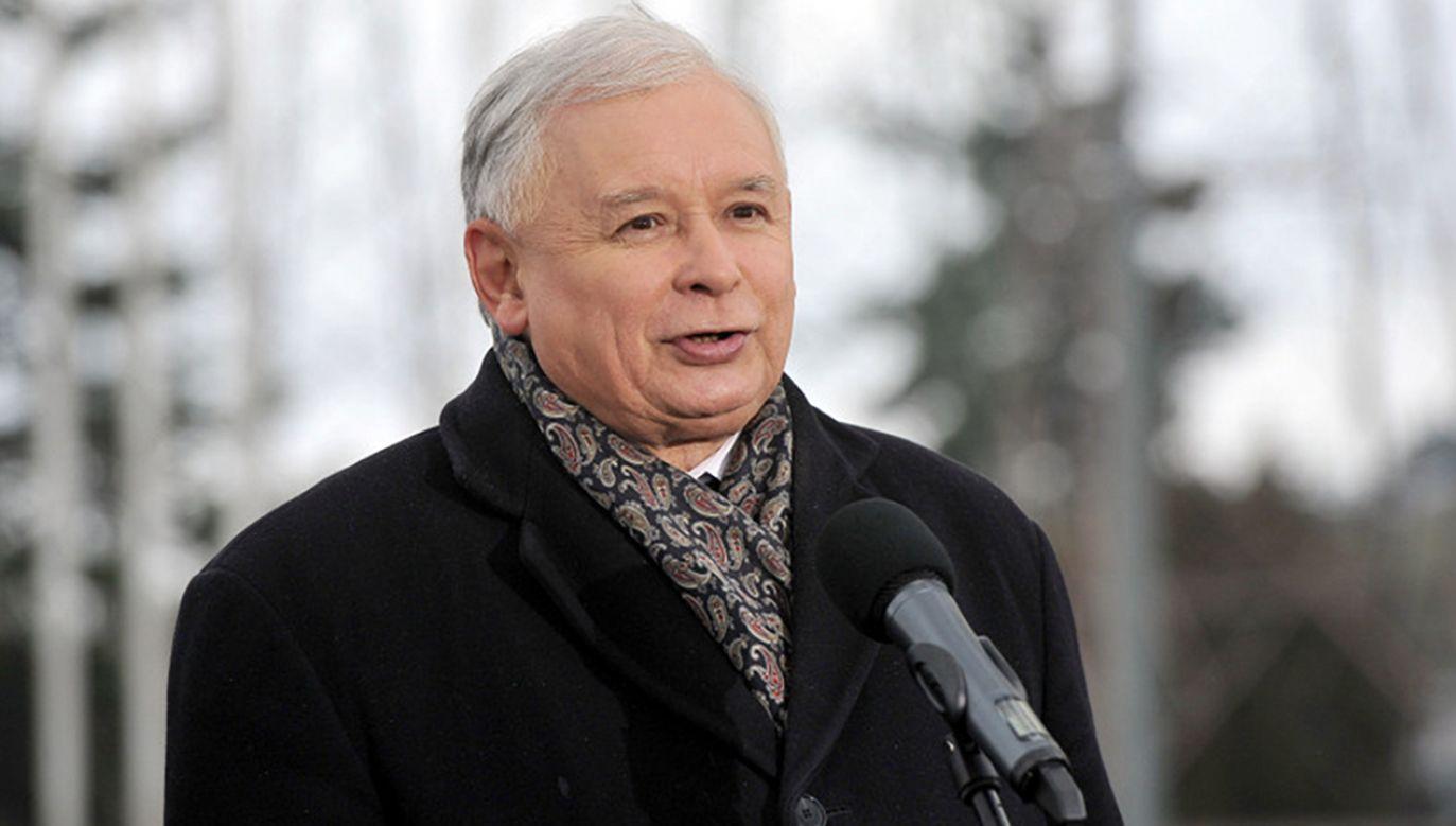 Jarosław Kaczyński (fot. Flickr/Prawo i Sprawiedliwość)