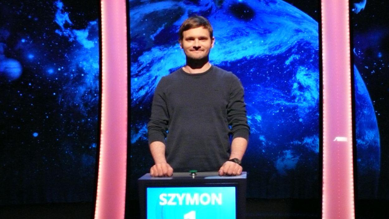 Pan Szymon Buda wszedł do finału z 1 pkt.