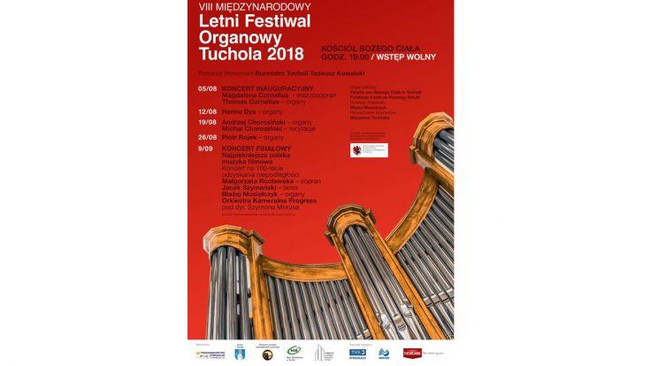 """VIII Letni Festiwal Organowy """"Tuchola 2018"""""""