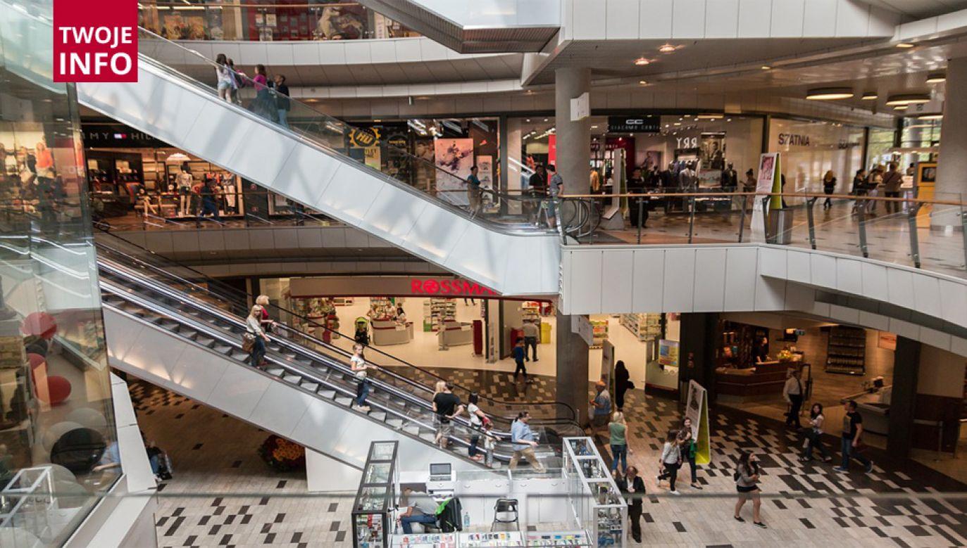Do zdarzenia doszło w sobotę wieczorem w galerii handlowej Sfera w Bielsku-Białej (fot. ilustracyjna Pixabay CCO)
