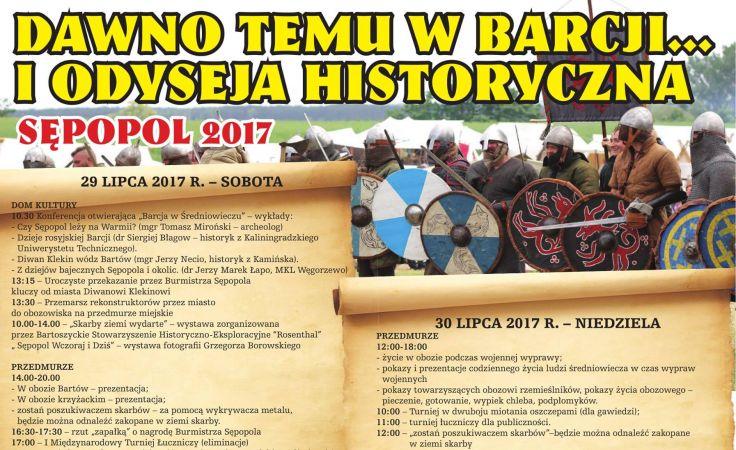 Odyseja odbędzie się w Sępopolu w sobotę i niedzielę 29 i 30 lipca
