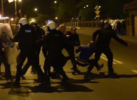 Zamieszki w Knurowie 3 maja 2015 r.