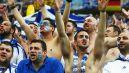 Greccy kibice nie szczędzili gardeł (fot. Getty Images)