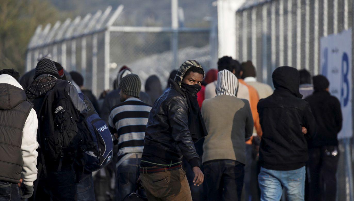 Ośrodek dla uchodźców i migrantów przy wiosce Moria na Lesbos (fot. REUTERS/Alkis Konstantinidis/File photo)