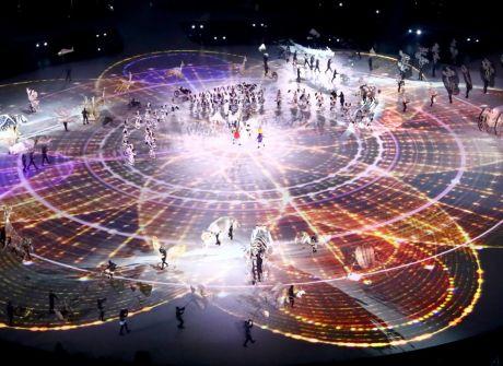 Igrzyska w Pjongczangu oficjalnie otwarte