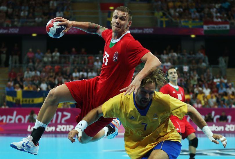 Szabolcs Zubai zdobył jedną bramkę dla Węgrów (fot. Getty