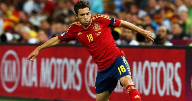 Jordi Alba był największym odkryciem Euro 2012 (fot. Getty Images)